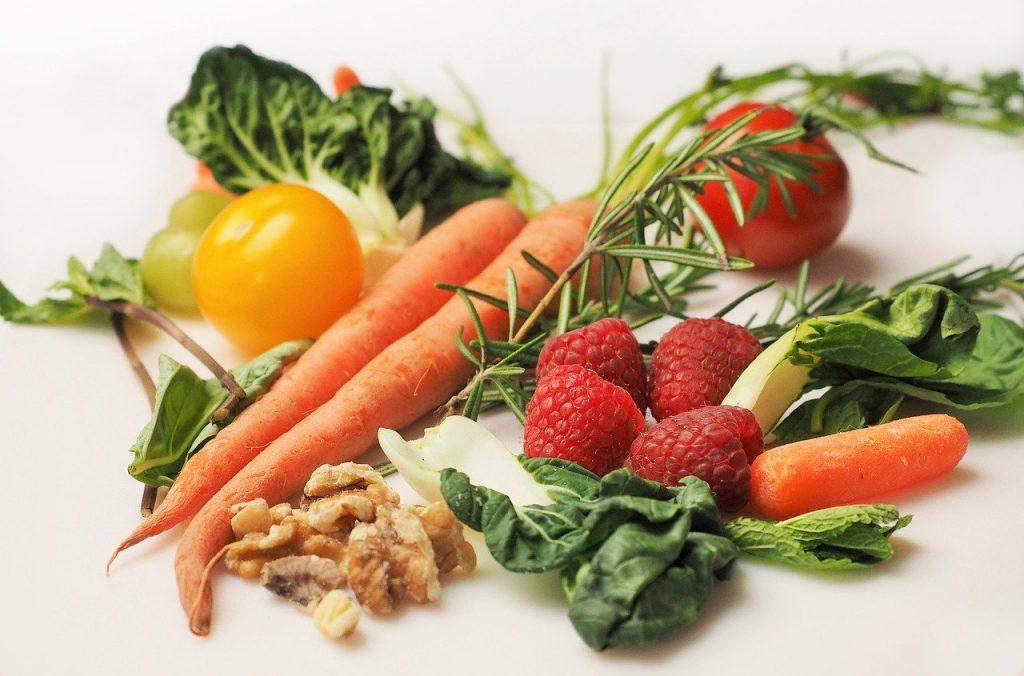 assortiment de fruits et légumes